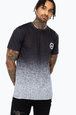 HYPE BLACK SPECKLE FADE MENS SUB T-SHIRT