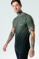 HYPE KHAKI BLACK SPECKLE FADE MEN'S SUB T-SHIRT