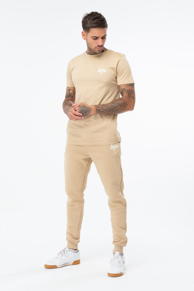 HYPE SAND MINI SCRIPT MENS T-SHIRT
