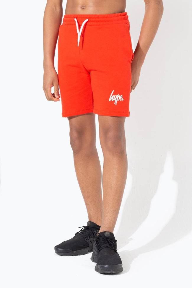 HYPE RED SCRIPT KIDS SHORTS