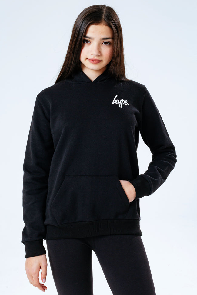 Hype Black Kids Hoodie & Leggings Set