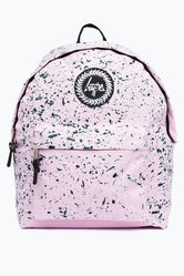 HYPE BABY PINK WITH GREEN SPECKLE BACKPACK