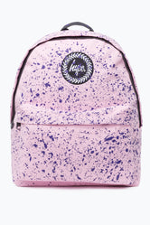 HYPE BABY PINK WITH PURPLE SPECKLE BACKPACK