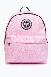 HYPE BABY PINK WITH PINK SPECKLE BACKPACK