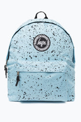 HYPE SKY BLUE WITH BLACK SPECKLE BACKPACK