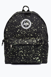 HYPE BLACK WITH LEMON SPECKLE BACKPACK