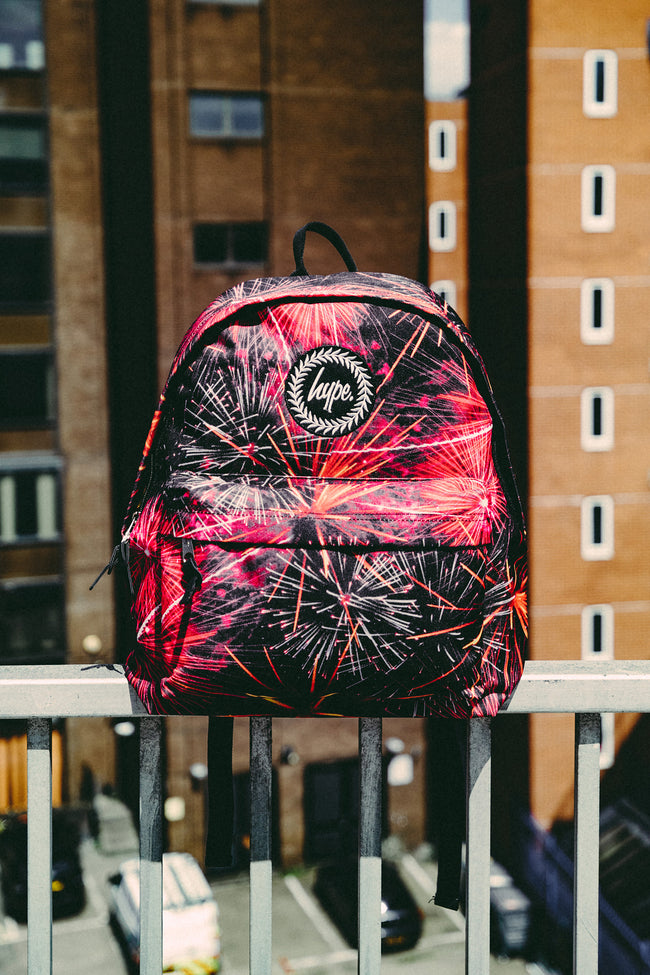 HYPE RED FIREWORKS BACKPACK