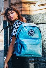 HYPE BLUE GLITTER BACKPACK