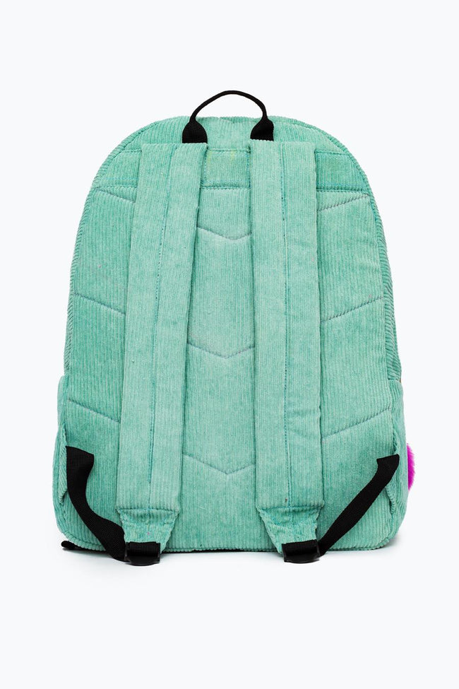 HYPE MINT CORDUROY BACKPACK