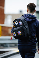 HYPE SPACE BADGES BACKPACK