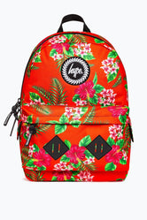 HYPE RED TROPICAL EXPLORER BACKPACK