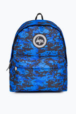 HYPE BLUE DIGI CAMO BACKPACK