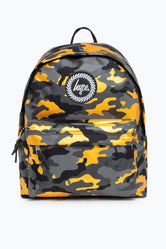 HYPE GOLD CAMO BACKPACK