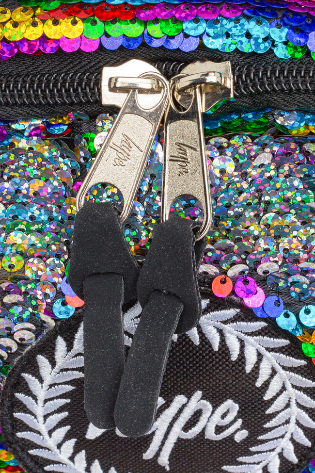 HYPE RAINBOW SEQUIN BACKPACK