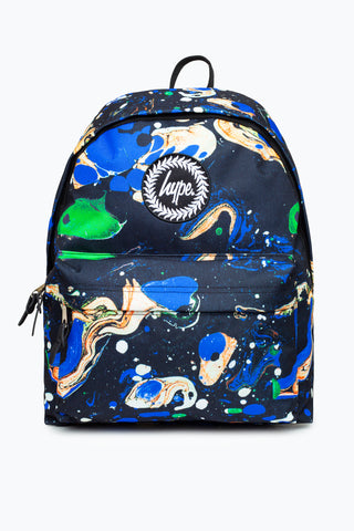 HYPE BLUE MARBLE BACKPACK