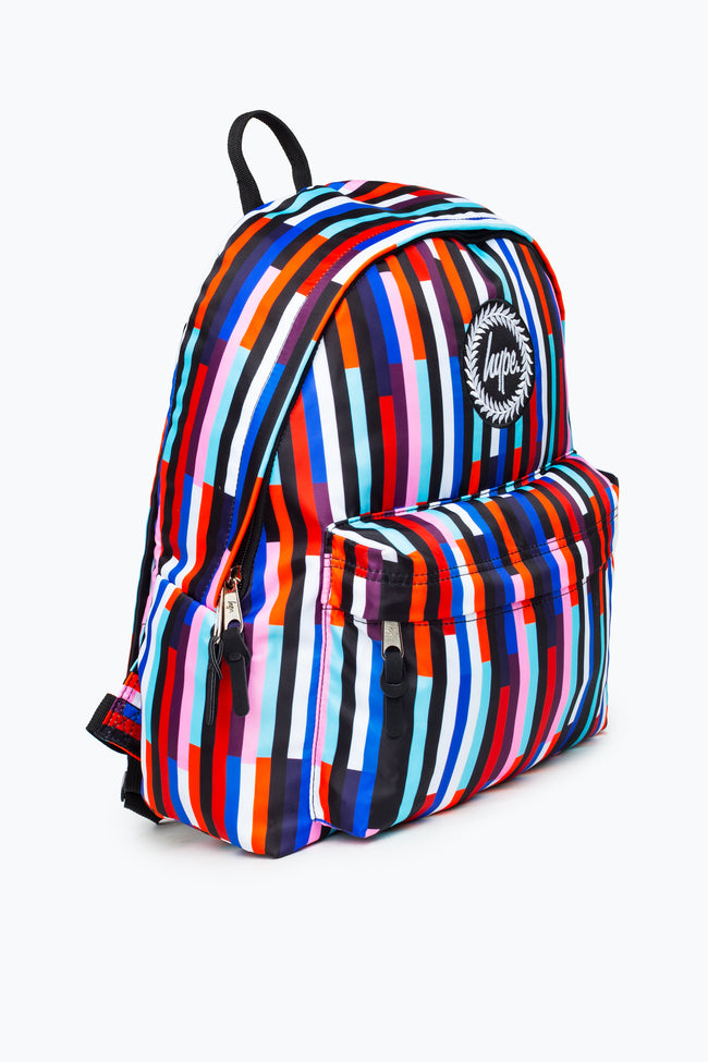 HYPE MULTI STRIPE BACKPACK
