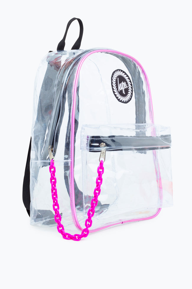 HYPE TRANSPARENT HOLO BACKPACK