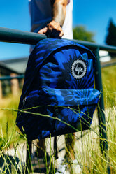 HYPE BLUE TIE DYE BACKPACK