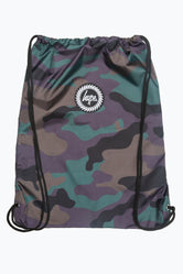 HYPE CAMO LEOPARD DRAWSTRING BAG