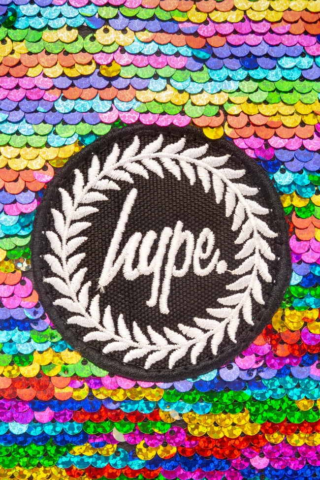 HYPE RAINBOW SEQUIN LUNCH BOX