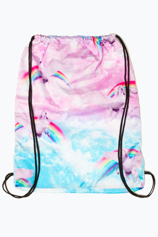 HYPE UNICORN SKIES DRAWSTRING BAG