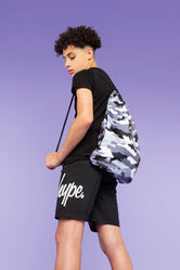 HYPE MONO CAMO DRAWSTRING BAG