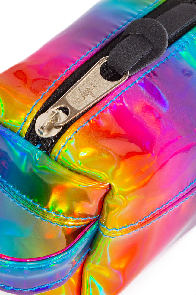 HYPE RAINBOW HOLOGRAPHIC PENCIL CASE