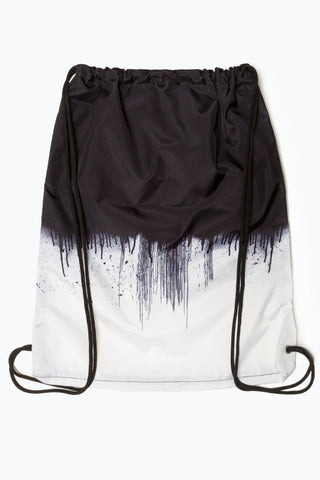 HYPE MONO DRIPS DRAWSTRING BAG