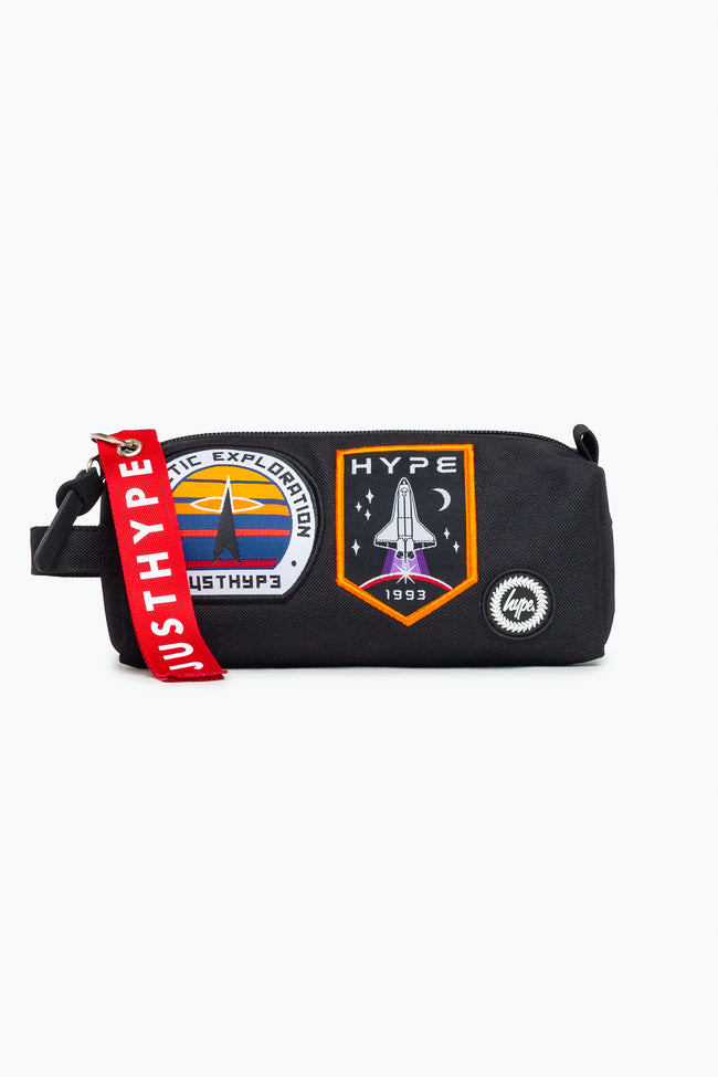 HYPE SPACE BADGES PENCIL CASE