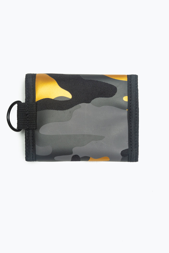 HYPE GOLD CAMO WALLET