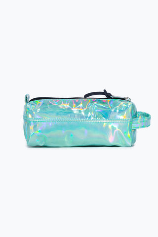 HYPE MINT HOLOGRAPHIC PENCIL CASE