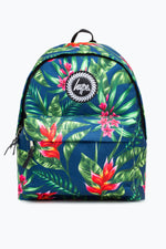HYPE NAVY FLORAL BACKPACK