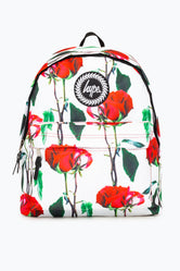 HYPE WHITE ROSE BACKPACK