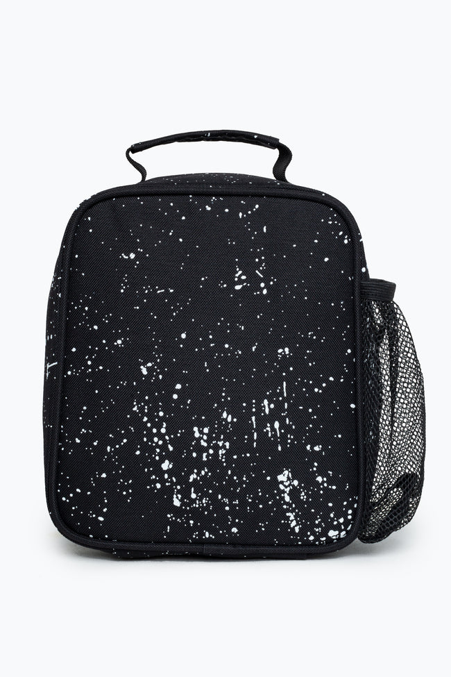 HYPE BLACK SPECKLE LUNCH BOX