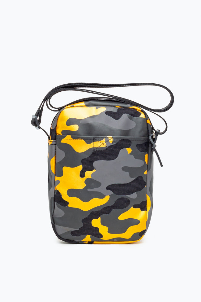 HYPE GOLD CAMO SIDE BAG