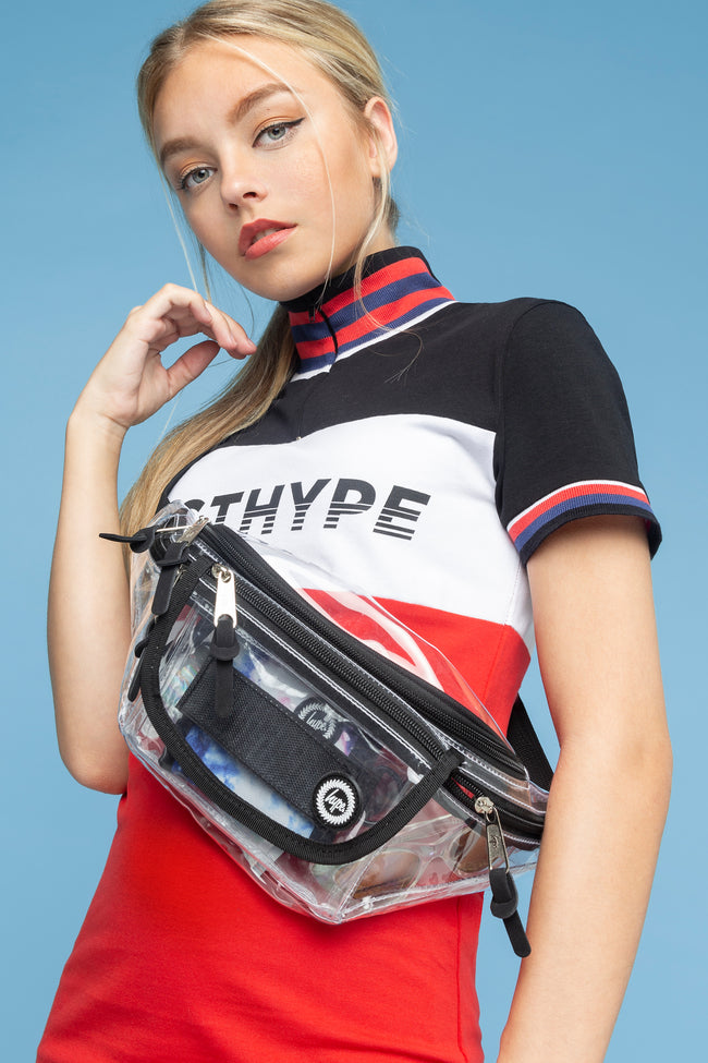 HYPE TRANSPARENT BUM BAG