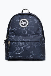 HYPE BLACK MAPS BACKPACK
