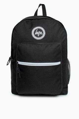 HYPE BLACK PLAIN UTILITY BACKPACK