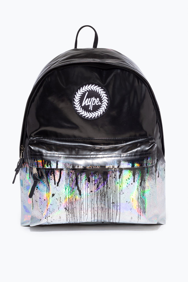 HYPE HOLOGRAPHIC DRIPS BACKPACK