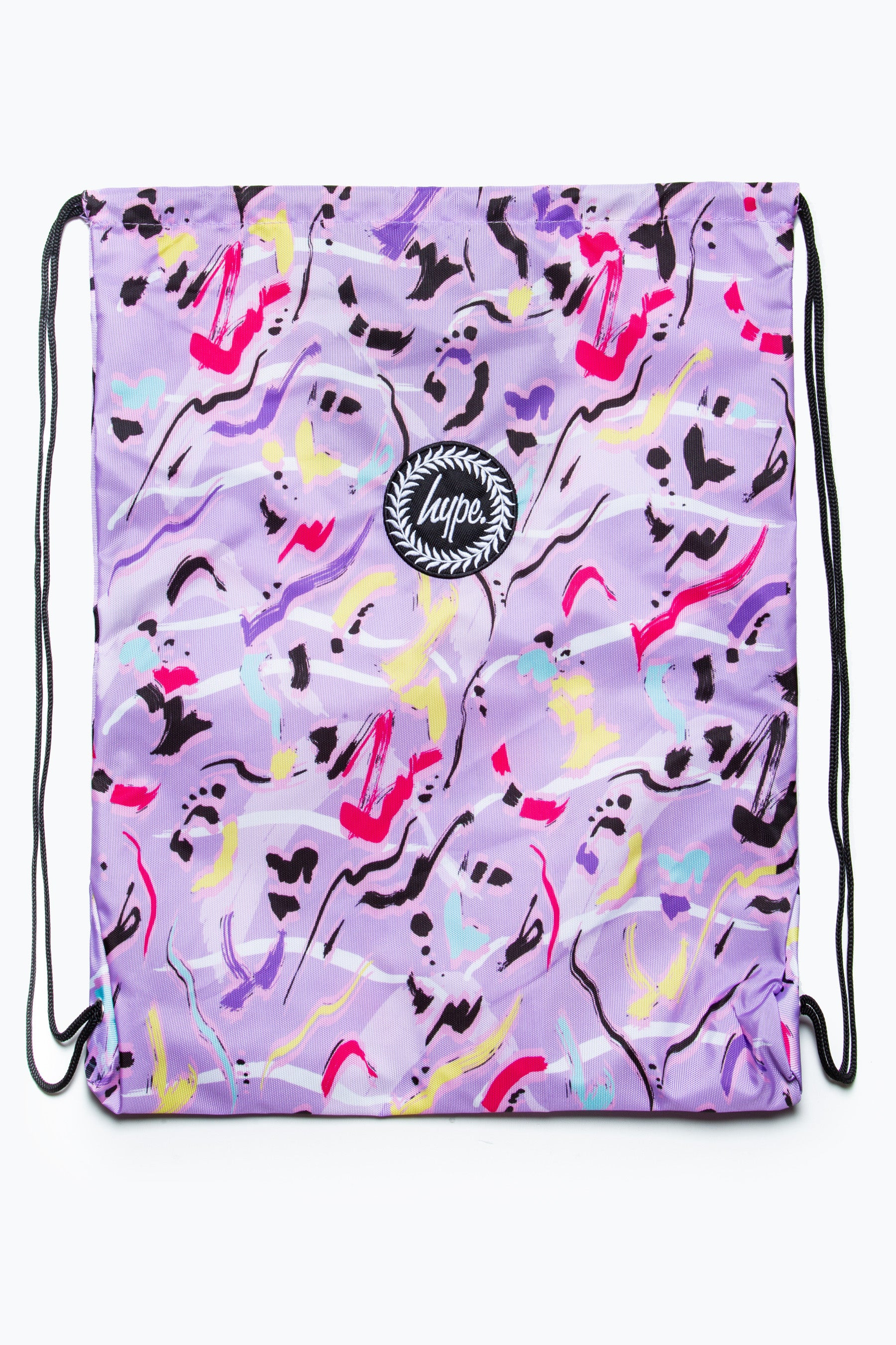 Clothing & Accessories HYPE ABSTRACT ANIMAL DRAWSTRING BAG
