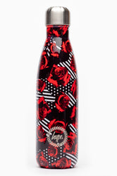 HYPE GEO ROSES METAL REUSABLE BOTTLE