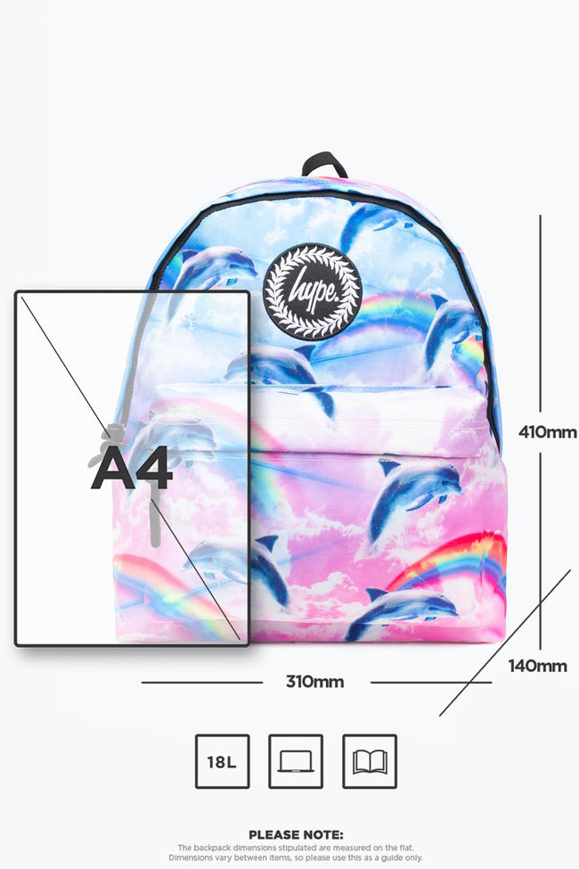 HYPE DOLPHIN CLOUD BACKPACK