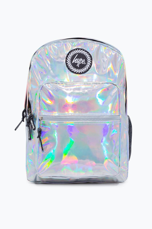 HYPE SILVER HOLOGRAPHIC VOYAGE BACKPACK