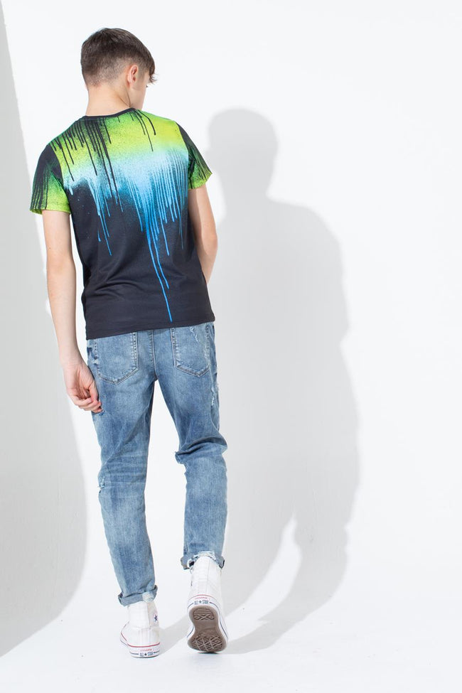 Hype Three Colour Drip Kids T-Shirt