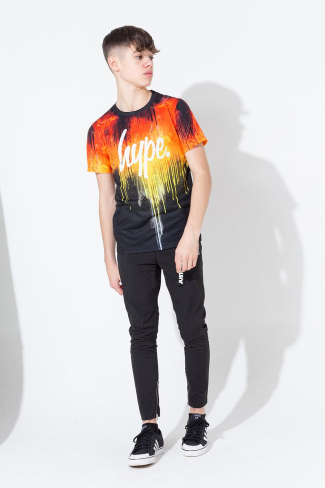 HYPE LAVA DRIPS KIDS T-SHIRT