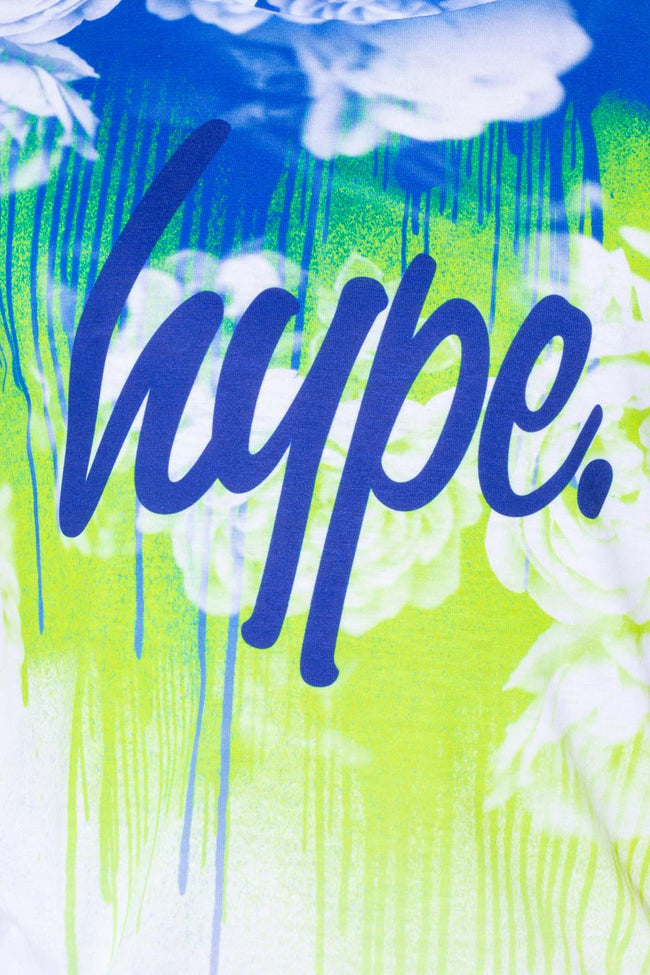 HYPE ROSE SKY DRIPS KIDS T-SHIRT