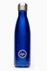 HYPE BLUE METAL REUSABLE BOTTLE