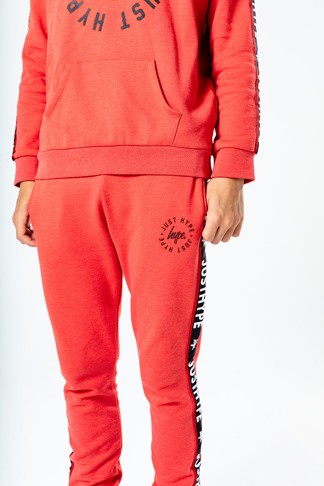 HYPE RED TAPED KIDS TRACKSUIT SET
