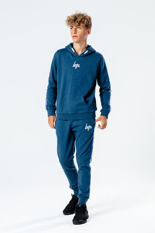 HYPE NAVY TAPED KIDS TRACKSUIT SET