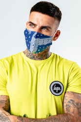 HYPE ADULT NAVY BANDANA ADJUSTABLE FACE MASK